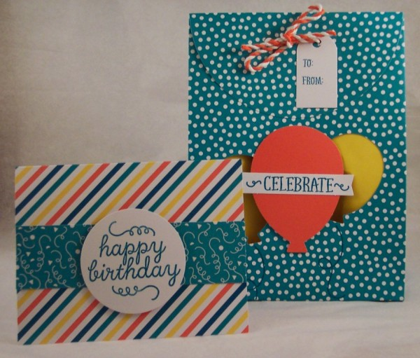 Review and Giveaway: Stampin' Up May Paper Pumpkin Kit