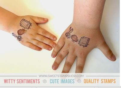 Technique: Making Temporary Tattoos with Stamps – Stamping