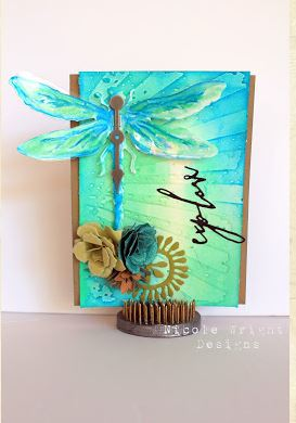 Project: Dragonfly Card