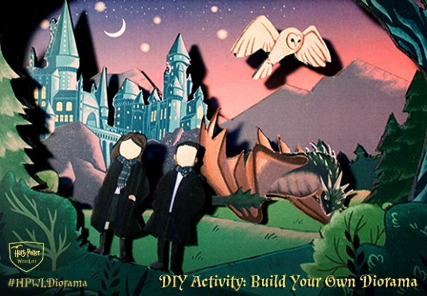 Freebie and Project: Harry Potter Diorama