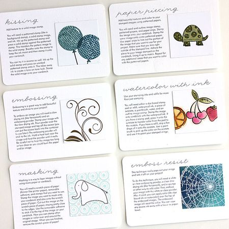 Tips: Stamping Tips Notebook