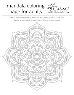 Trend and Freebie: Mandala Coloring Pages