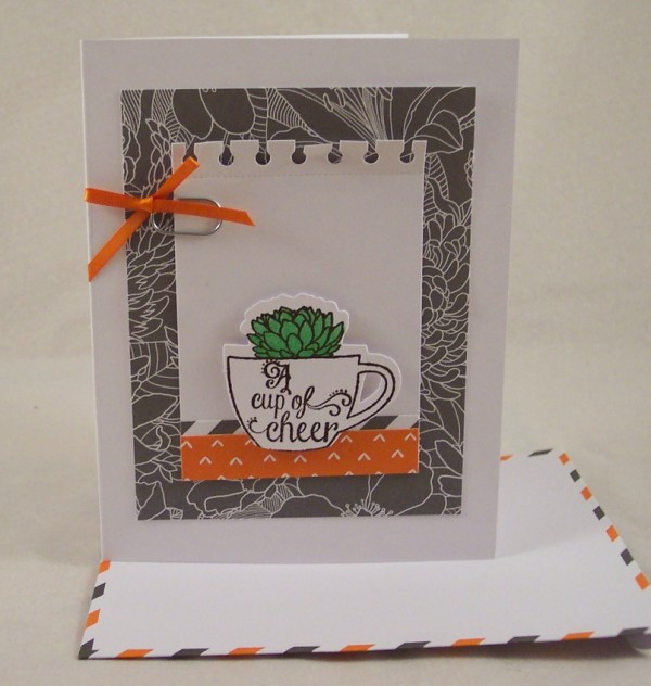 Giveaway and Review: Stampin' Up Paper Pumpkin Kit for July