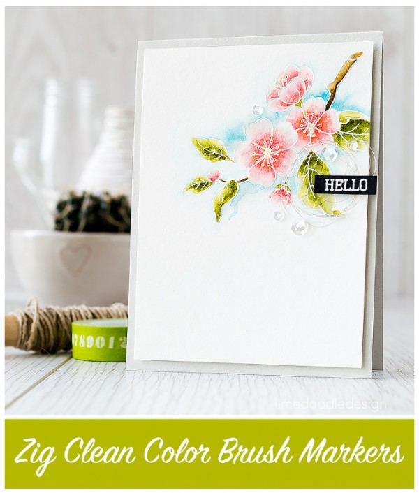 Trend: Watercolor Markers