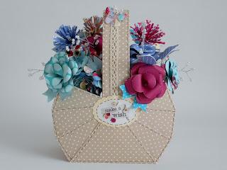 Template: Paper Basket