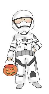 Freebie: Stormtrooper Kid Digital Stamp