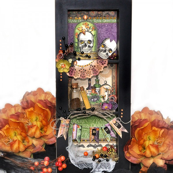 Project: Halloween Shadow Box