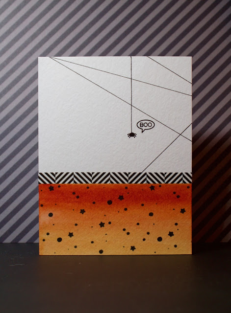 Project: Halloween Card with Custom Stencil
