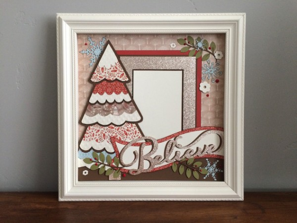 Project: Christmas Shadow Box
