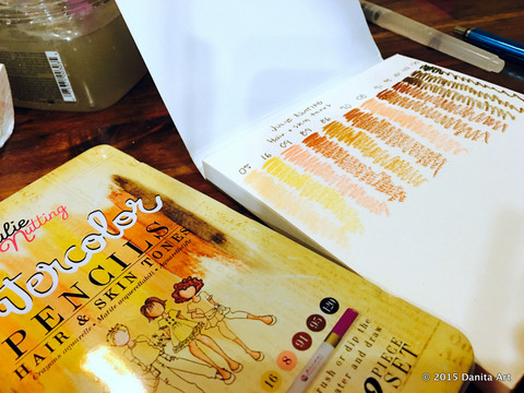 Review: Prima Water Color Pencils