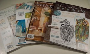 Giveaway: Four Magazines from Stamping and Company
