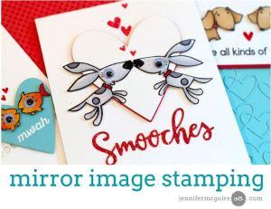 Technique: Mirror Image Stamping
