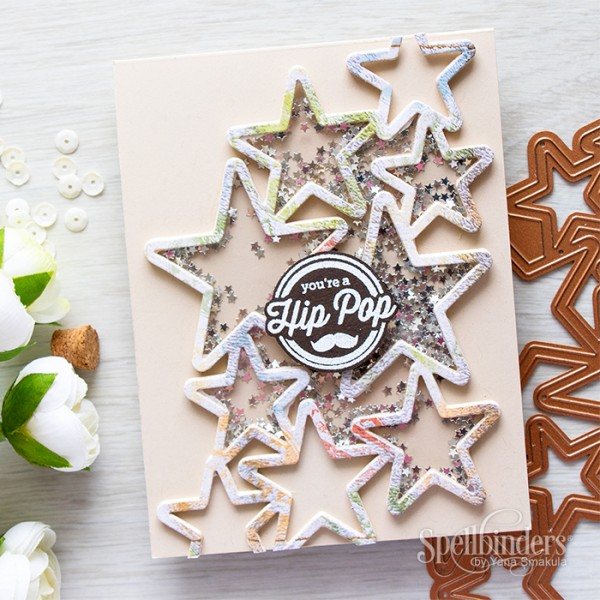 Project: Father's Day Star Shaker Card