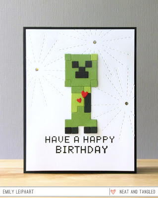 Project: Minecraft Creeper Card