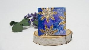Project: Metallic Coasters