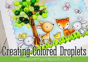 Tip: Coloring Clear Bubble Embellishments