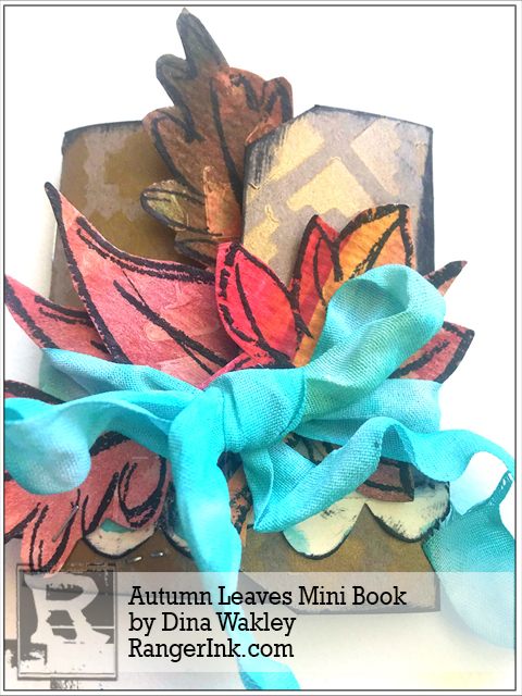 Project: Fall Leaves Mini Booklet