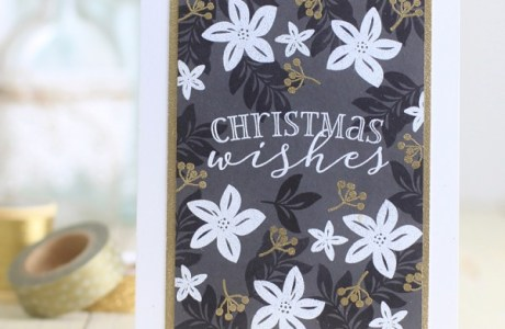 Project: Elegant Embossed Christmas Cards