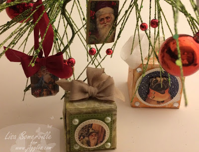 Project: Mixed Media Ornaments