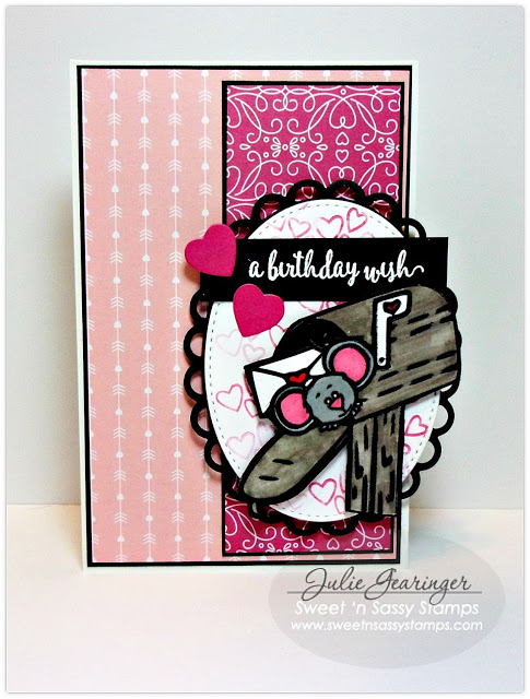 Project Birthday Mail Box Card
