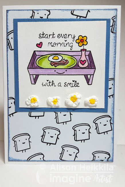 Tip: Breakfast Eggs Card