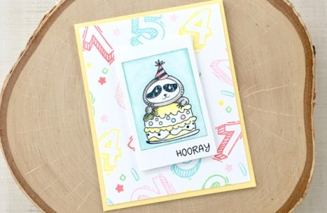 Project: Sloth Birthday Card