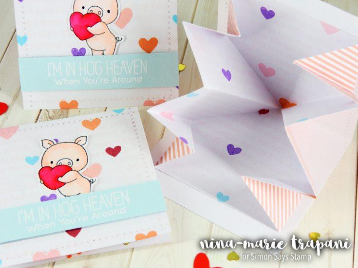 Project: Surprise Pop Up Valentine Cards