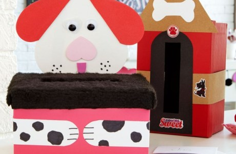 "Project: Valentine ""Mail Box"" – Kids Paper Craft"