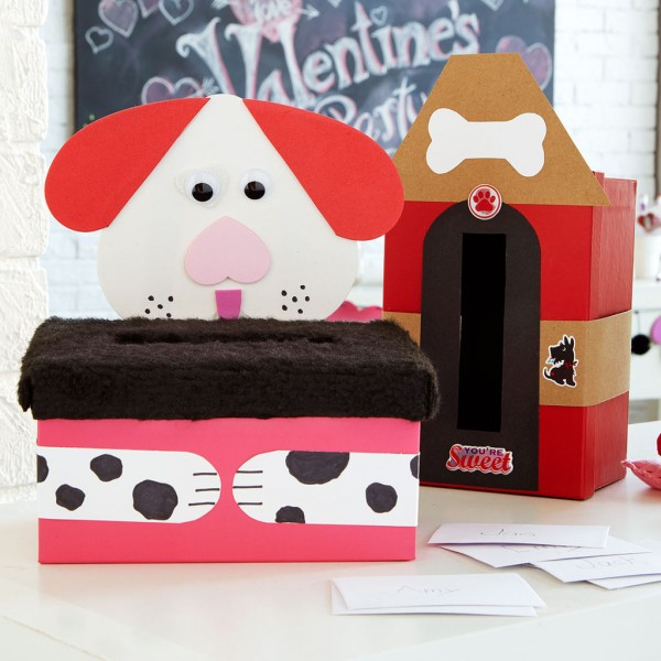 "Project: Valentine ""Mail Box"" - Kids Paper Craft"