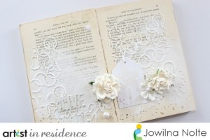 Project: White on White Journal Page