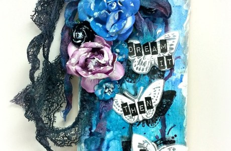 Project: Mixed Media Dream Tag