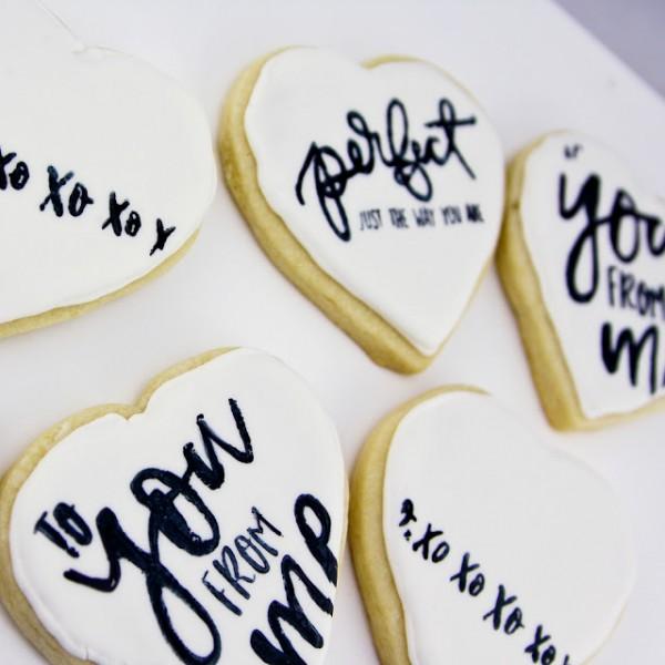 Tip Stamping on Cookies