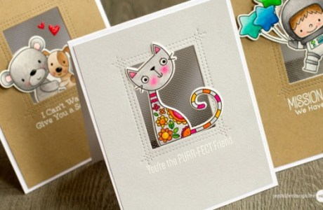 Project: Tulle Window Cards