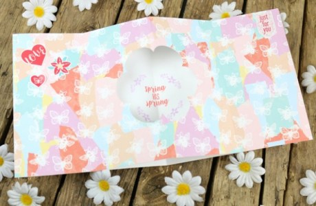 Project: Blooming Tunnel Card