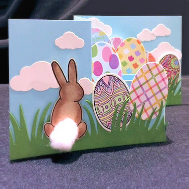 Project: Z Fold Pop Up Easter Card