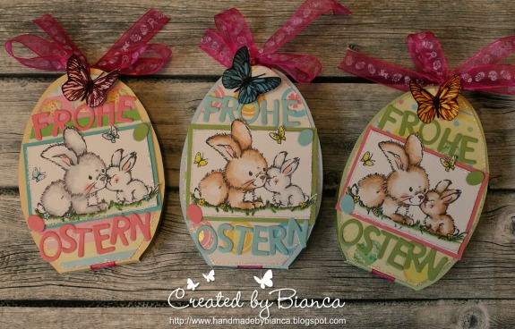 Project and Pattern: Egg Shaped Treat Holders