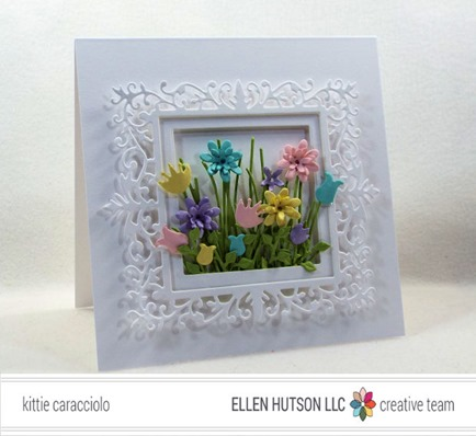 Project: Framed Flower Bouquet Card