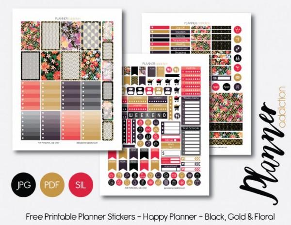 Download: Planner Stickers
