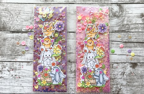 Project: Spring Shaker Bookmarks