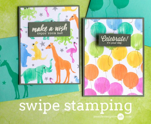 Technique: Swipe Stamping