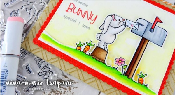 Tip: Bunny Card with 3 different mediums