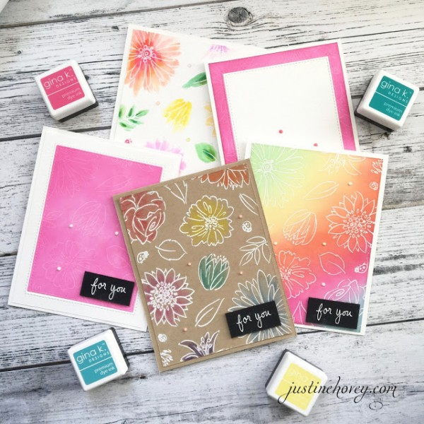 Techniques: 5 Different Cards with One Stamp Set