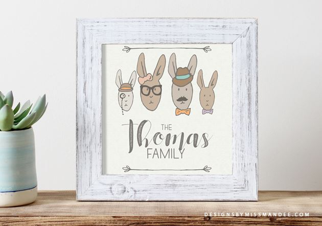 Download: Hipster Rabbits Images