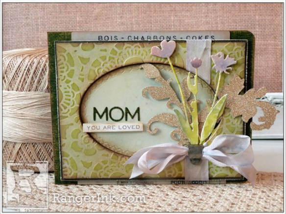 Project: Die Cut Mother's Day Card