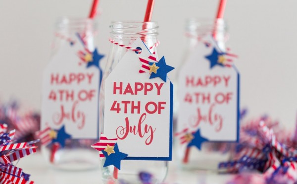 Project: 4th of July Drink Tags