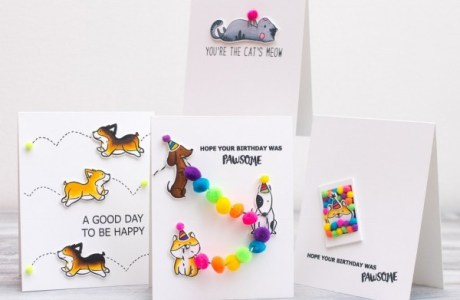 Projects: Pom Pom Pet Cards
