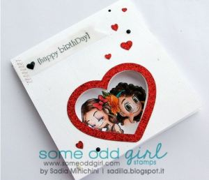 Project: Peek a Boo Card