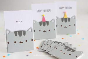 Project: Pusheen Cat Cards