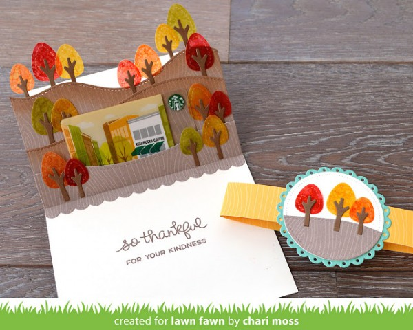 Project Fall Pop Up Gift Card Holder