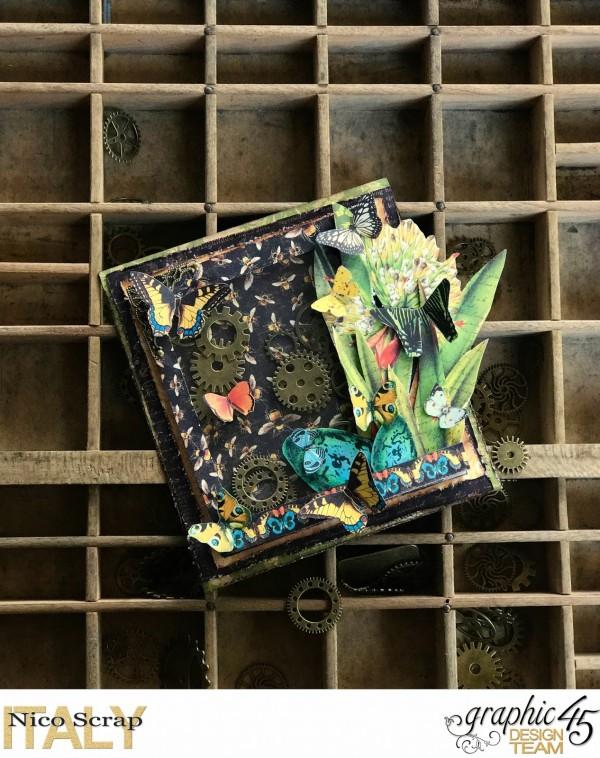 Project: Botanical Shaker Card